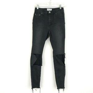 One Teaspoon High Waist Free Bird II Jeans